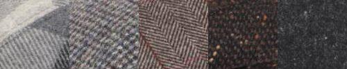 Verschiedene Tweedstoffe