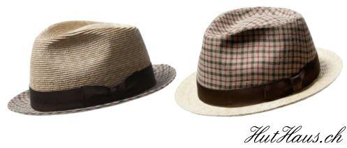 Hüte aus Weizenstroh
